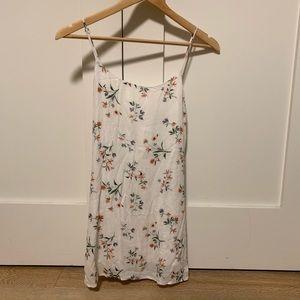 lottie moss floral tie dress